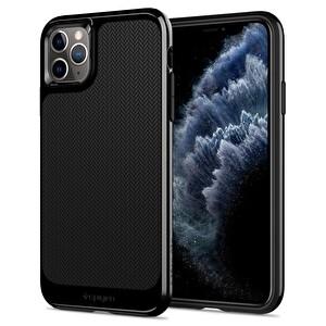 Spigen Iphone 11 Pro Neo Hybrid  Jet Siyah Telefon Kılıfı
