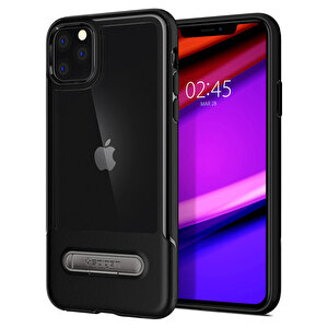 Spigen Iphone 11 Pro Slim Armor Essential  S Siyah Telefon Kılıfı