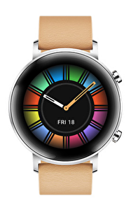 Huawei Watch GT2 Deri Diana-B19V Akıllı Saat Haki