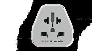 Swiss Charger SCP-20061 Universal Seyahat Adaptörü