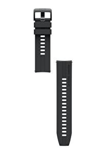 Huawei Watch GT2 Latona Siyah Silikon Kayış