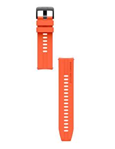 Huawei Watch GT2 Latona Turuncu Silikon Kayış