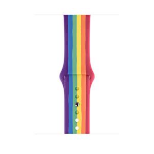 Apple Watch 44mm Pride Edition Spor Kordon - Normal Boy