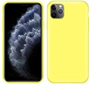 Preo My Case Nano iPhone 11 Silikon Telefon Kılıfı Limon Sarısı