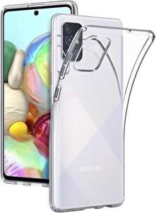 Sunix Samsung Galaxy A71 Şeffaf Telefon Kılıfı
