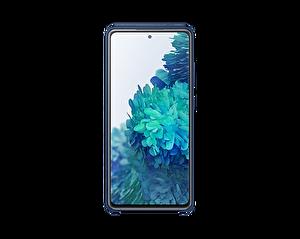 Samsung Galaxy S20FE EF-PG780T Silikon Telefon Kılıfı Lacivert