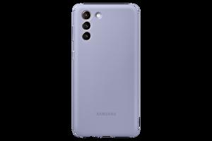 Samsung Galaxy S21+ Silikon Telefon Kılıfı Mor