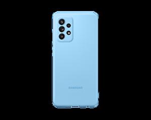 Samsung Galaxy A52 Uyumlu Slim Silikon Kılıf Mavi