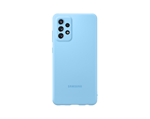 Samsung Galaxy A72 Uyumlu Slim Silikon Kılıf Mavi