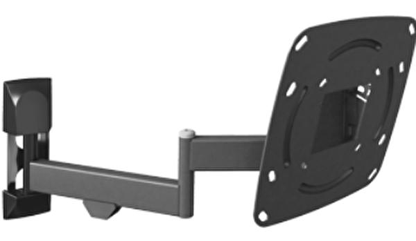 """Barkan E-240 (Max. 37"""") 4 Yönlü Metalik Siyah Hareketli Askı Aparatı"""