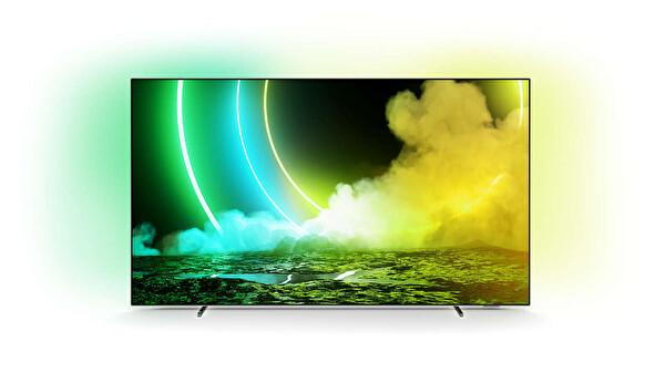 """Philips 55OLED705/12 55"""" 139 Ekran 3 taraflı Ambilightlı 4K UHD OLED Android TV"""