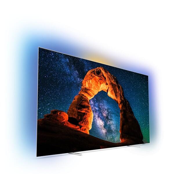 """PHILIPS 55OLED803/12 55"""" 139 Ekran 3 Taraflı Ambilight Süper İnce 4K UHD Smart OLED TV ( OUTLET )"""