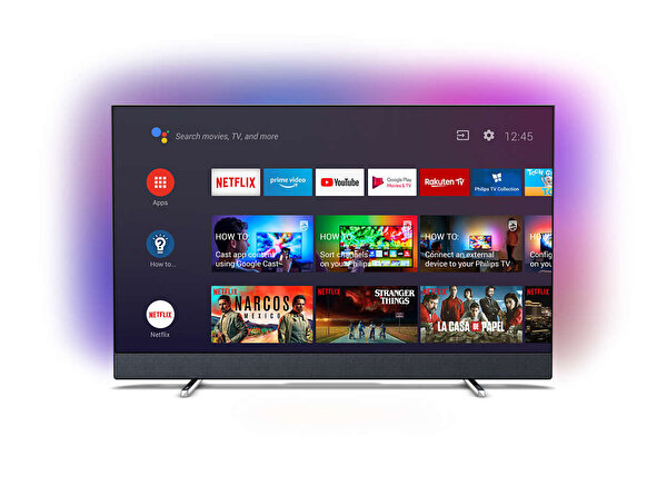 "Philips 55PUS8804/12 55"" 139 Ekran Ambilightlı 4K UHD Android TV"