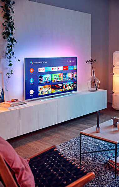 """Philips The One 50PUS7304/62 50"""" 126 Ekran 4K UHD Android TV"""
