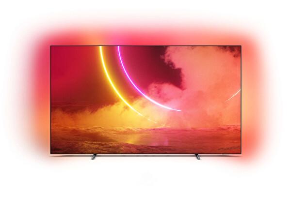 """Philips 55OLED805/12 55"""" 139 Ekran Ambilightlı 4K UHD OLED Android TV ( TESHIR )"""