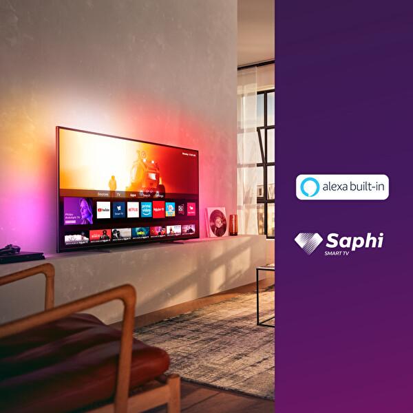 "Philips 65PUS7805/62 65"" 164 Ekran Ambilightlı 4K UHD Smart TV"