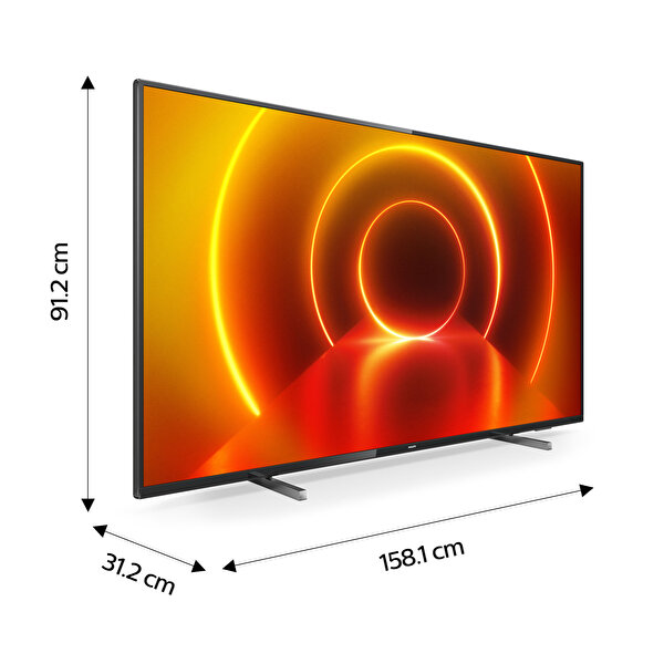 "Philips 70PUS7805/12 70"" 178 Ekran Ambilightlı 4K UHD Smart TV"