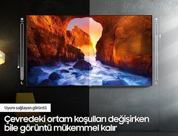 "Samsung QE55Q70T 55"" 138 Ekran 4K UHD QLED TV"
