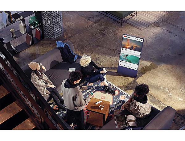 "Samsung QE43LS05 43"" 108 Ekran 4K QLED TV"