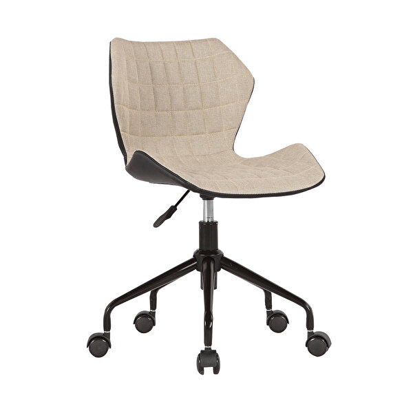 Adore Handy Mate Retro CHR-036-FJ-1 Çalışma Sandalyesi Bej