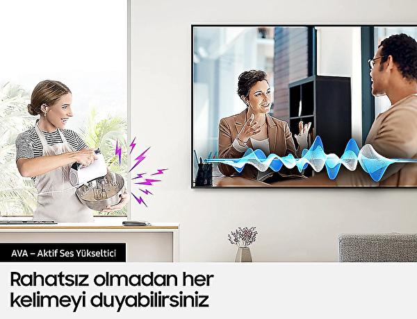 "Samsung QE75Q70 75"" 189 Ekran 4K QLED TV"