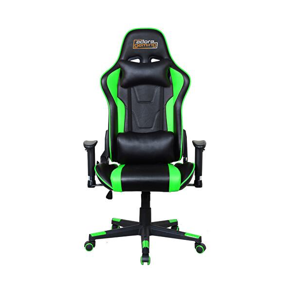 Adore Gaming Profesyonel Oyuncu Koltuğu-Siyah-Yeşil