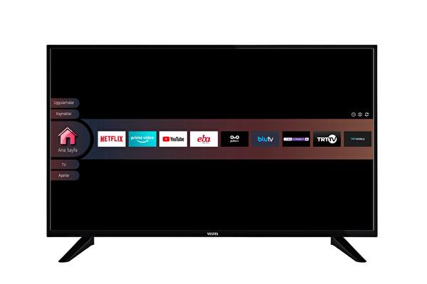 """Vestel 49F9401 49"""" 123 Ekran Uydu Alıcılı FHD Smart TV"""