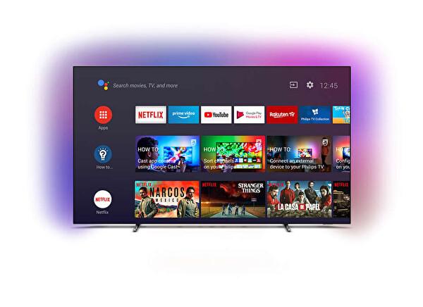 """Philips 65OLED705/12 65"""" 164 cm 4K UHD OLED Ambilightlı Android TV"""