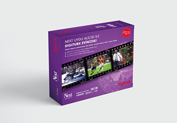 Next Digiturk Uyumlu HD Uydu Alıcısı