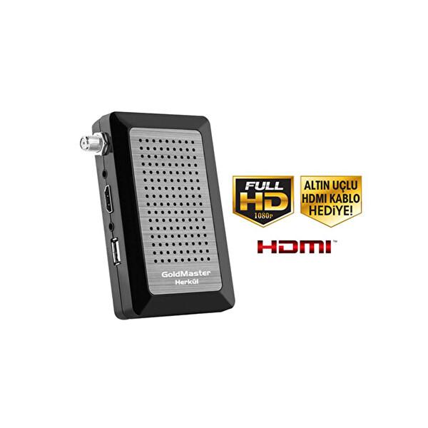 Goldmaster Herkül Micro Full HD Uydu Alıcısı ( OUTLET )