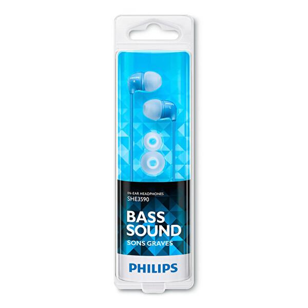 Philips She3590Bl/10 Kulakiçi Kulaklık Mavi