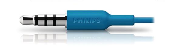 Philips She3595Bl/00 Mikrofonlu Kulakiçi Kulaklık Mavi