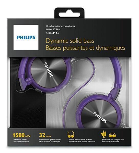 Philips SHL3160PP/00 DJ Kulaklık