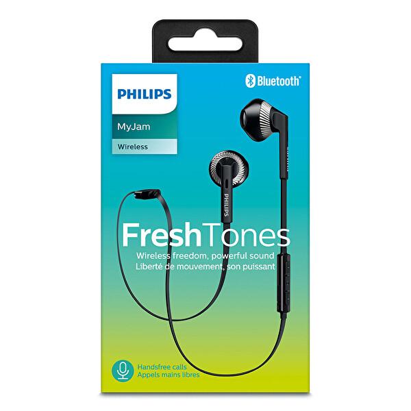 Philips SHB5250 Bluetooth Kulak İçi Kulaklık  Siyah