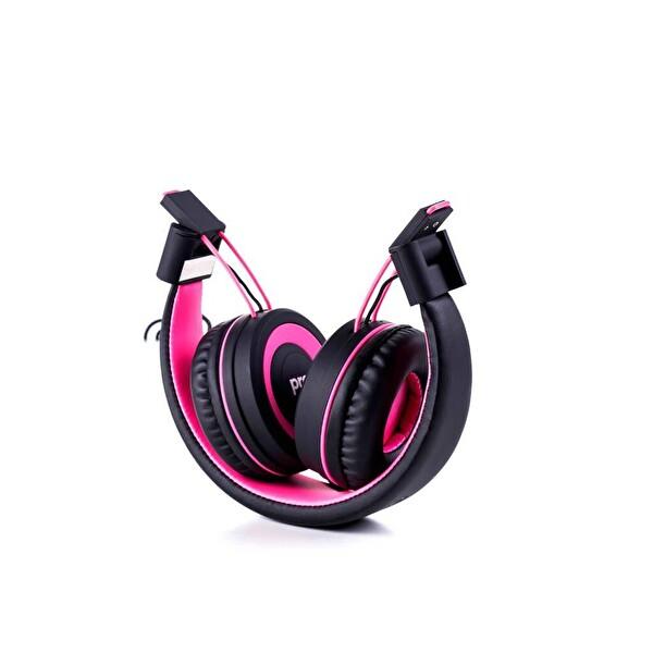 Preo My Sound Ms05 Kulaküstü Kulaklık - Candy Pembe