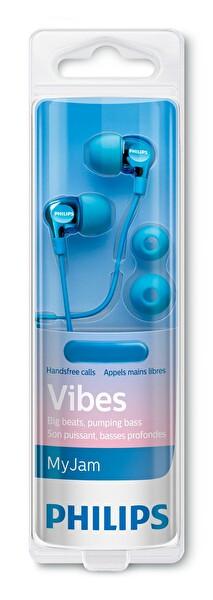 Philips She3705Lb/00 Mikrofonlu Kulakiçi Kulaklık - Lacivert