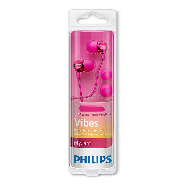 Philips SHE3705PK/00 Mikrofonlu Kulakiçi Kulaklık Pembe