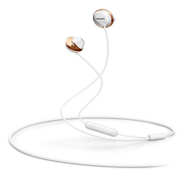 Philips She4205Wt/00 Flite Mikrofonlu Kulakiçi Beyaz Kulaklık