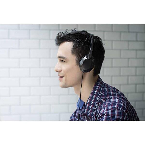 Philips Shl4405Bk/00 FLite Mikrofonlu Kafabantlı Siyah Kulaklık