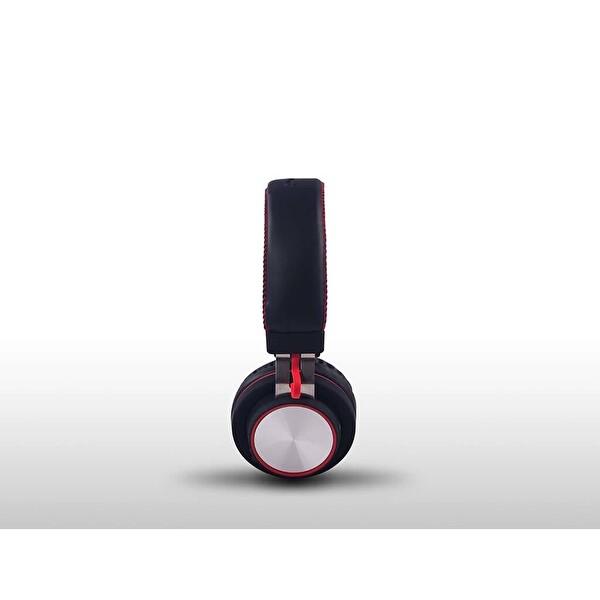 Preo My Sound Ms06 Bluetooth Kırmızı Kulak Üstü Kulaklık