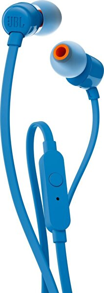 Jbl T110 Mikrofonlu Kulakiçi Kulaklık Mavi