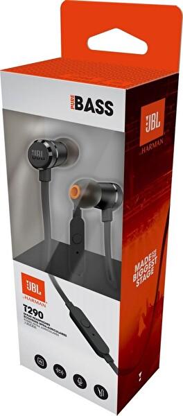 JBL T290 Mikrofonlu Kulak İçi Kulaklık Siyah