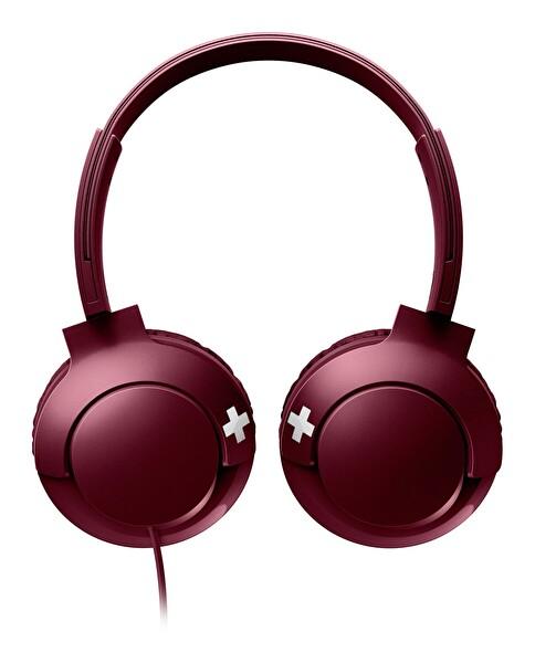 Philips Shl3075Rd/00 Bass + Mikrofonlu Kulaküstü Kulaklık Kırmızı