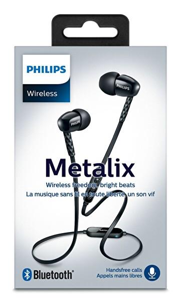 Philips Shb5850Bk/00 Kulakiçi Bleutooth Kulaklık - Siyah