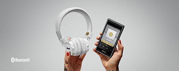 Marshall Major II Bluetooth Kulaküstü Kulaklık Beyaz