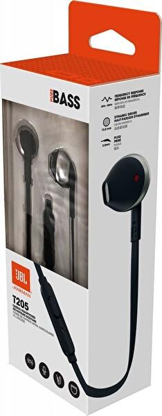 Jbl T205 Kulak İçi Kulaklık Siyah