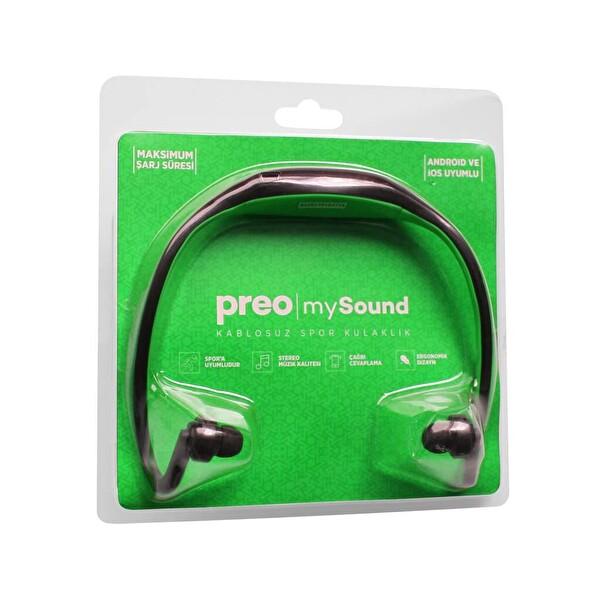 Preo My Sound Bt 06 Bt Kulakiçi Kulaklık Yeşil