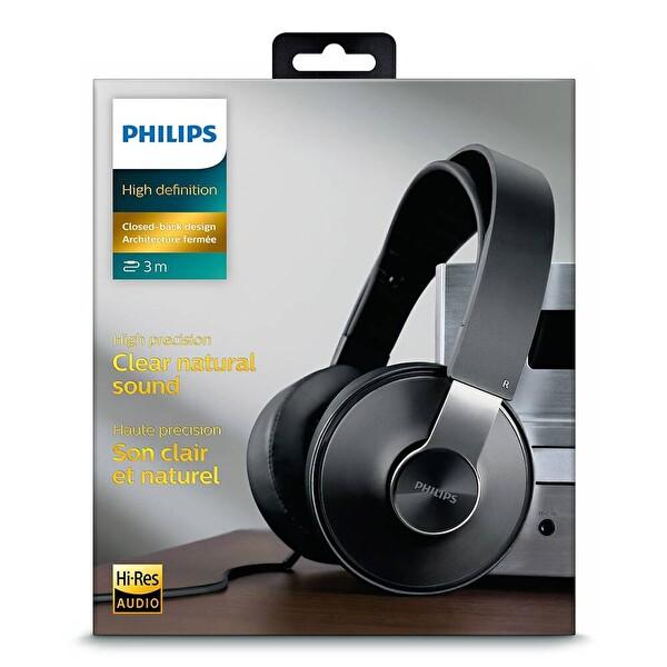 Philips SHP8000/10 Siyah Kulaküstü Hi-Fi Kulaklık
