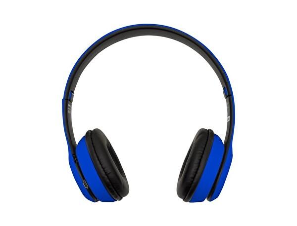 Preo My Sound MS15 Kulak Üstü Kablosuz Bluetooth Kulaklık Mavi