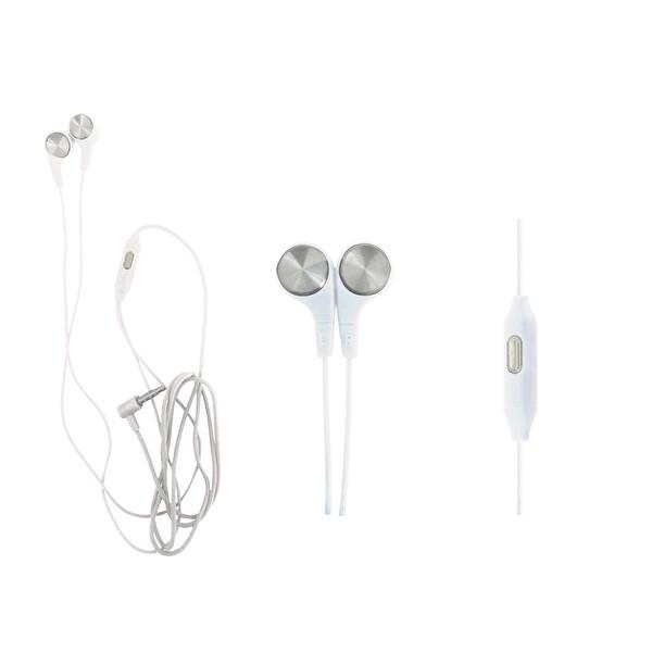 Preo My Sound MS19 Mikrofonlu Kablolu Kulak İçi Kulaklık Beyaz